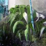 «PAYSAGES MEDITERRANEENS»80/60,peinture sur photo