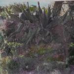 « PAYSAGES MEDITERRANEENS » 120/80- peinture sur photo