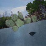 « PAYSAGES MEDITERRANEENS » 80/80 peinture sur photo